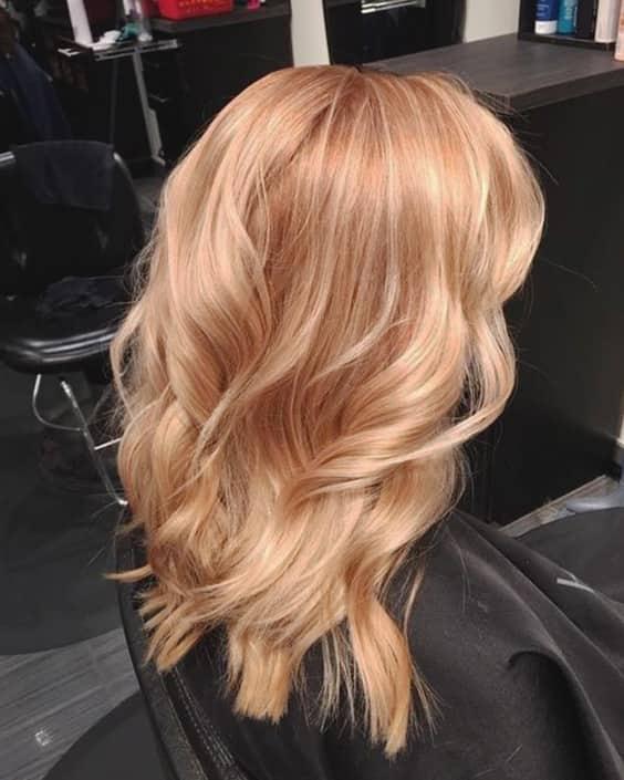 capelli biondo fragola