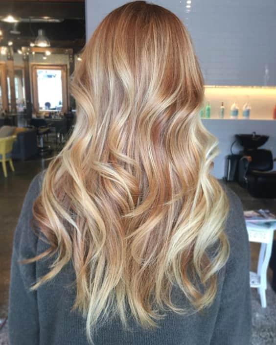 colore capelli biondo fragola