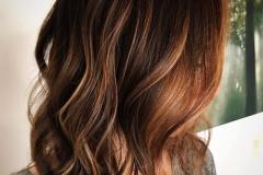capelli castano oro