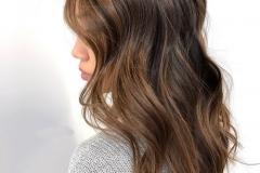 hair contouring caramello