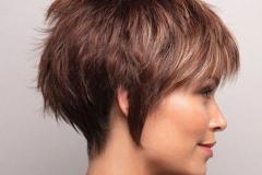 nuovo taglio di capelli
