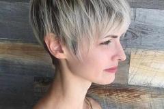 taglio per capelli biondi