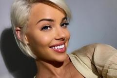 colore capelli platino donna