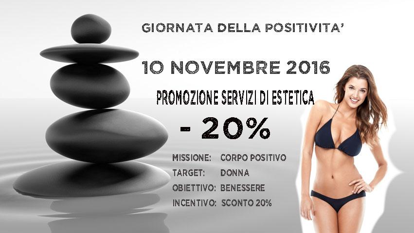 Giornata Della Positivita' – Centro Estetico Tuscolana