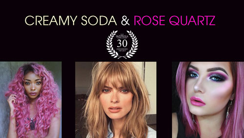Tendenze Colore Capelli – Creamy Soda e Rosa Quarzo