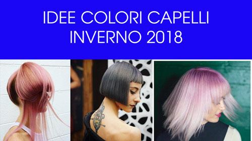 Idee Colori Capelli Inverno 2018