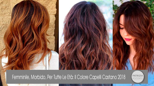 Colore Capelli Castano: Uno Per Ogni Età.