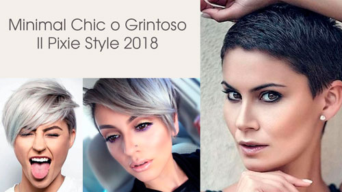 Taglio capelli donna corti 2019
