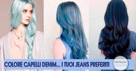 Colore Capelli Denim: La Tendenza Ispirata Ai Jeans
