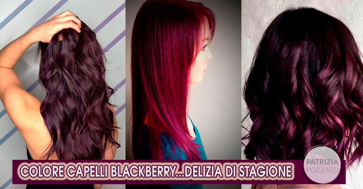 Colori Capelli Blackberry, Sfumature Alla Mora