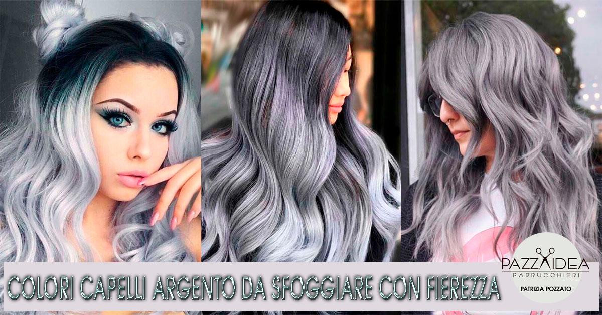 Colore capelli argento fierezza mozzafiato pazza idea - Bagno di colore grigio capelli ...