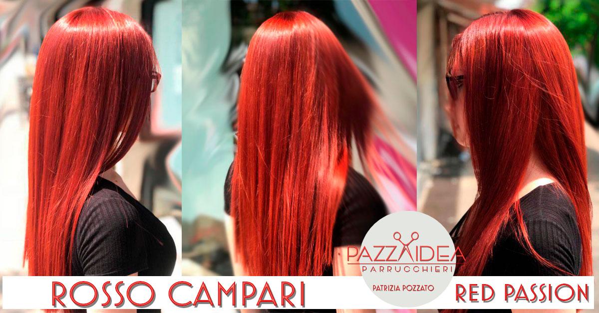 Colore Capelli Rosso Campari, Passione Al Primo Sguardo