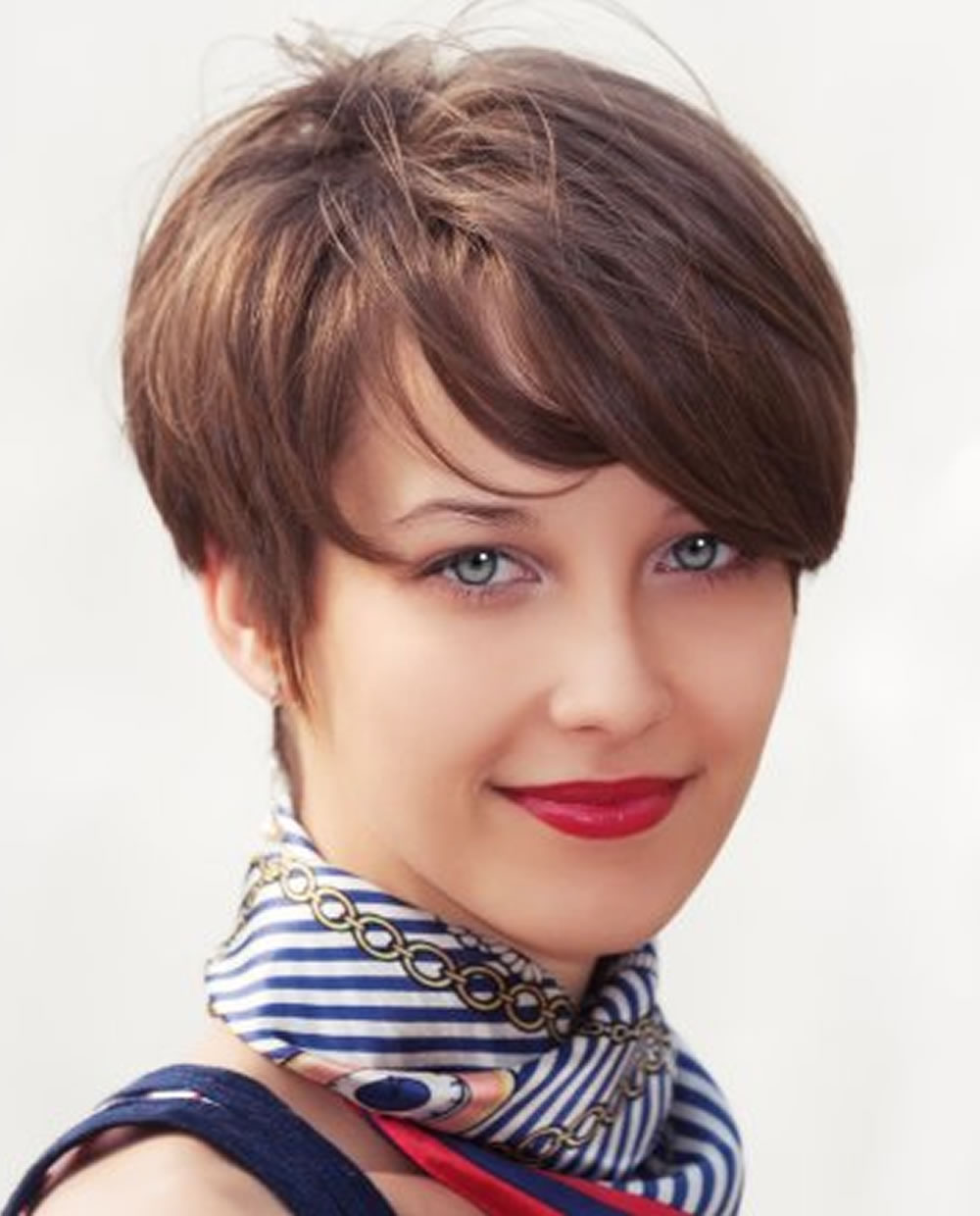 Pixie cut for round face 2019 summer hair