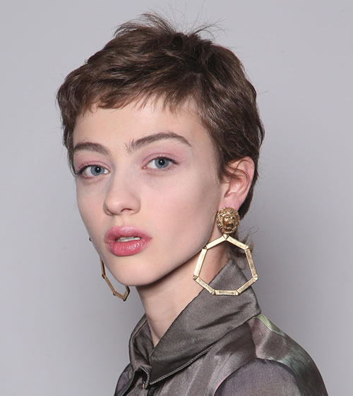 Pixie Haircut for Ladies with Long Face