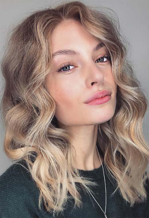 Colore capelli biondo sabbia – Frangia capelli 12d2e1eefa45