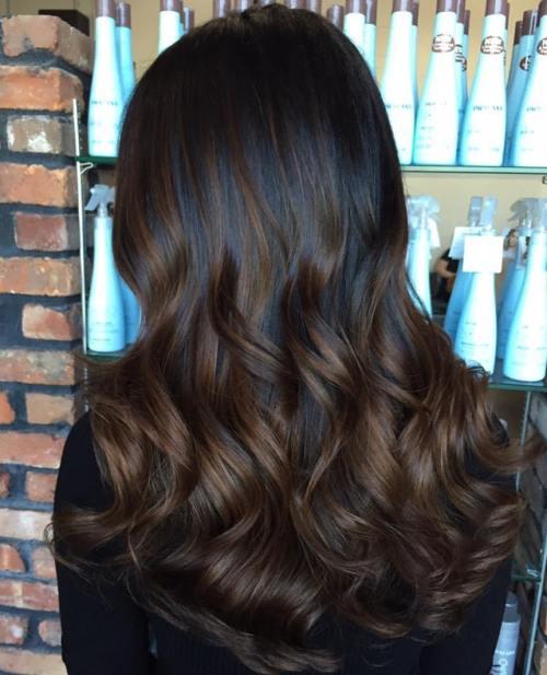 Colore capelli cioccolato