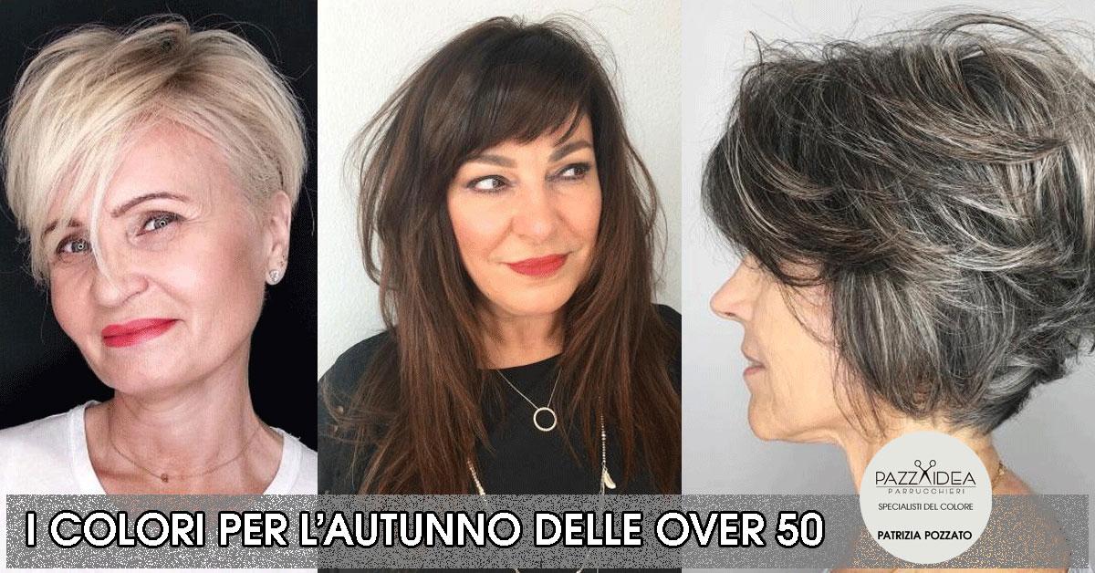 Tagli di capelli per donne over 50 2019