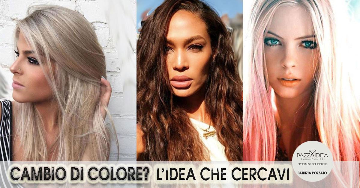 Tendenze cromatiche per capelli: I colori del 2019 per l'inverno