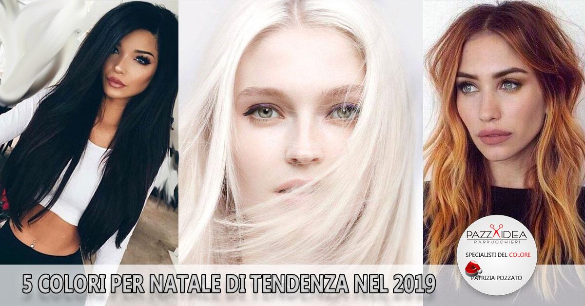 I colori di capelli per natale che saranno tendenza nel 2019