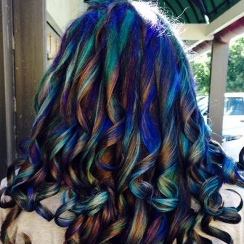 colore capelli petrolio