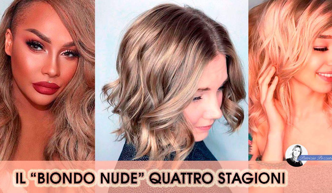 Biondo Nude il colore di capelli per tutte le stagioni