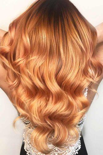 colore capelli oro rosa