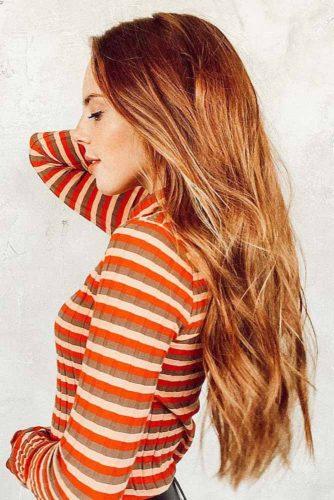colore rossiccio capelli