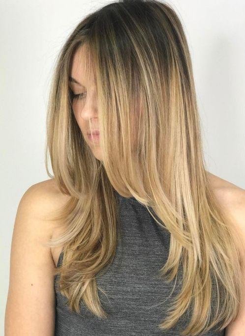 capelli scalati lunghi 2019