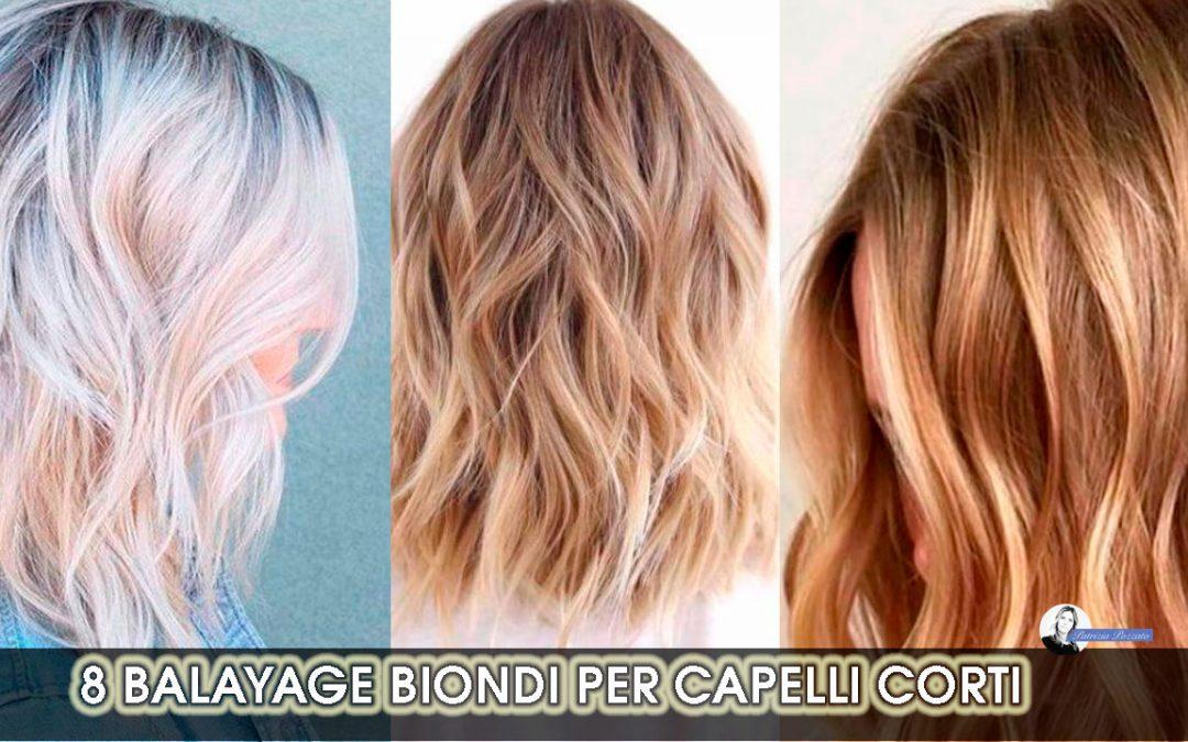 8 Idee di Balayage per i capelli corti biondi