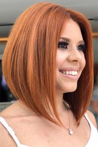 capelli rosso mattone