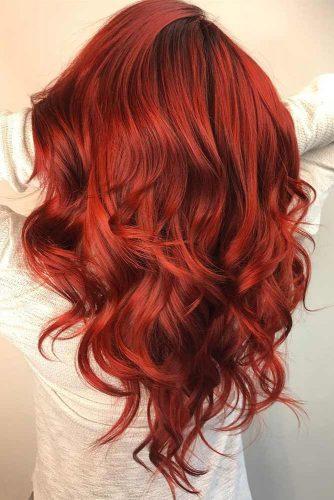 colore rosso rubino capelli