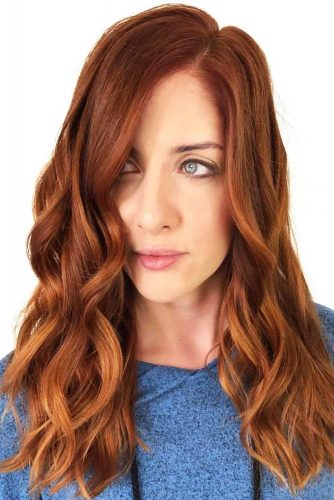 colore ginger red