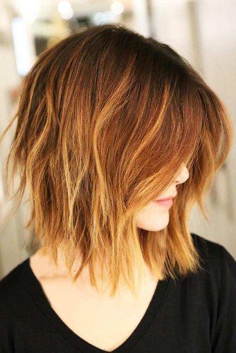 capelli con riflessi rame