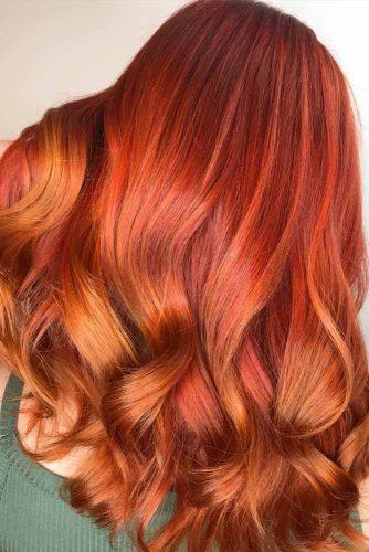 capelli oro rame