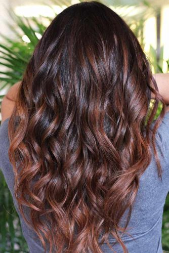 colore castano per capelli scuri
