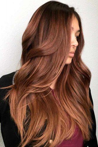 colore capelli rossiccio