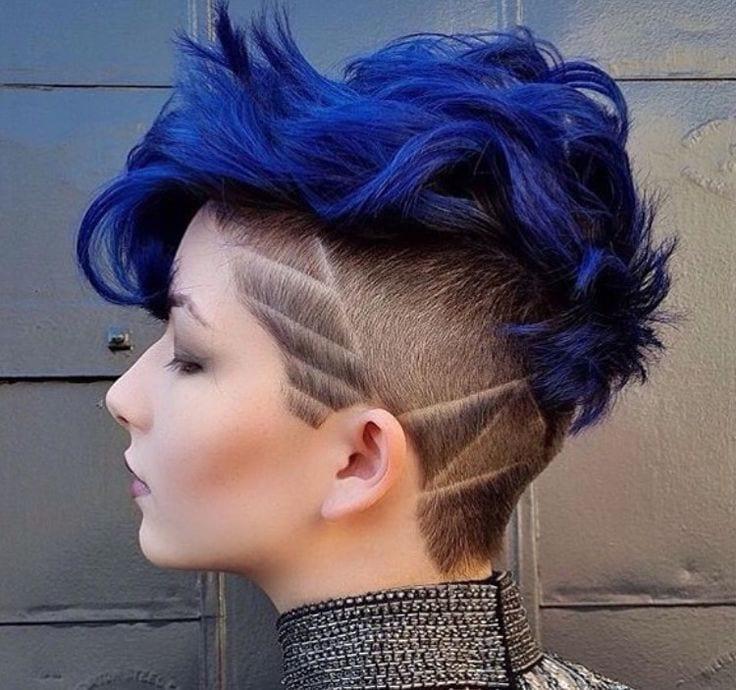 colore capelli per taglio rasato