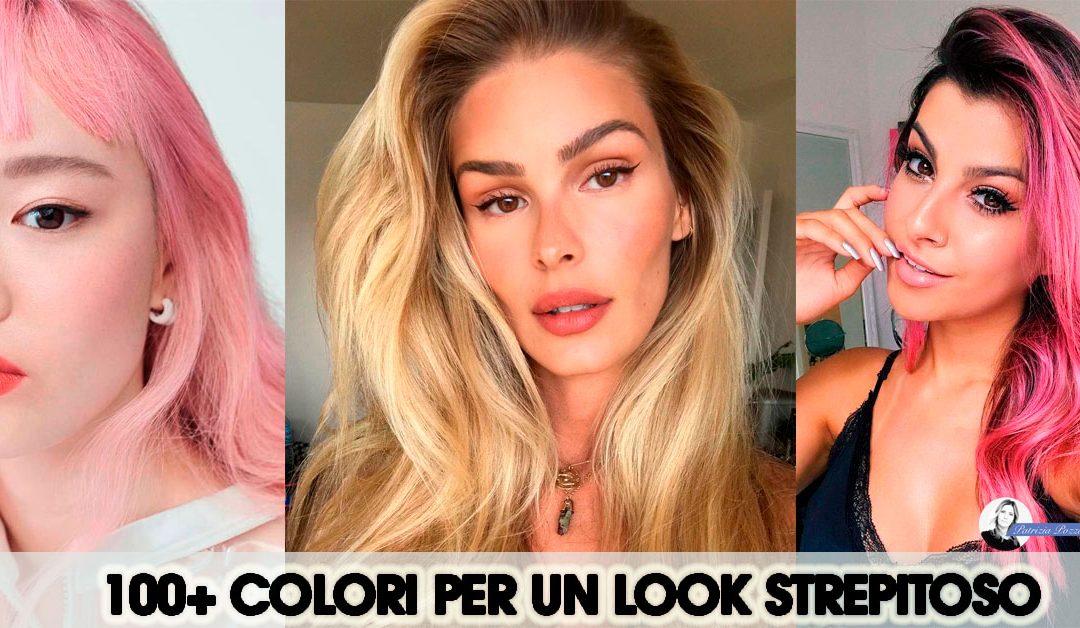 100 Colori per un look di capelli strepitoso