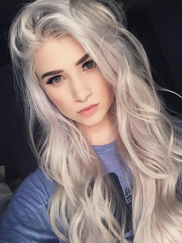 colore platino capelli 2020