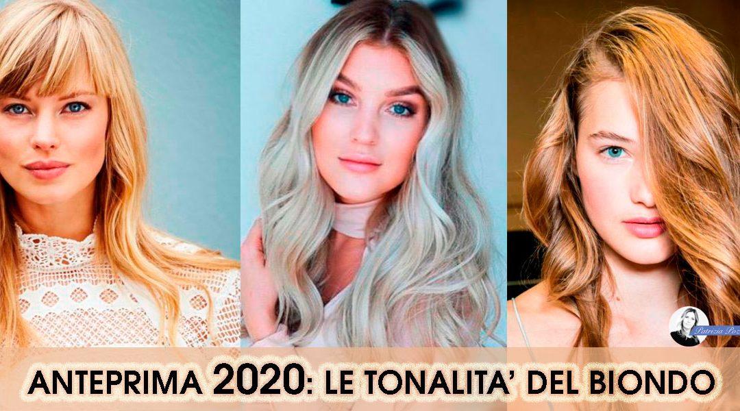 Colore Capelli Biondi: Le tonalità del 2020