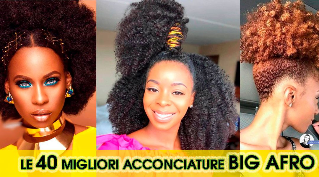 Capelli Ricci Afro? Le Migliori 40 Acconciature