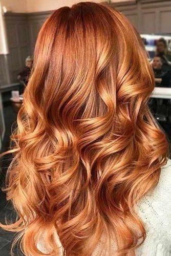 capelli rame dorato