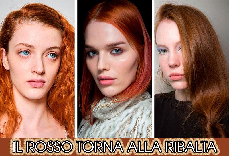 capelli rossi inverno