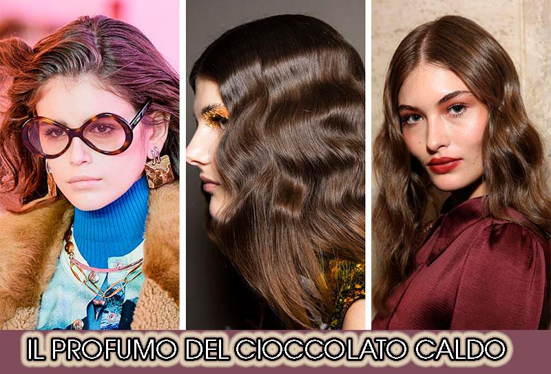 capelli cioccolato