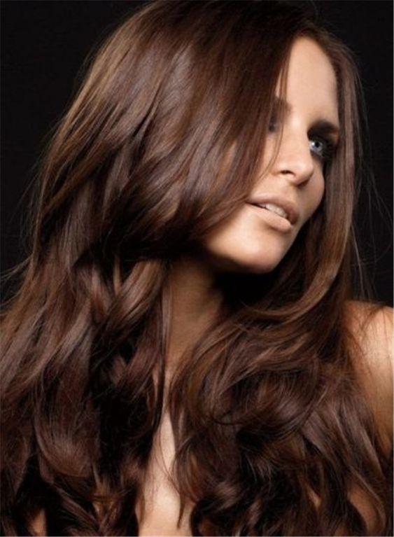capelli colore castano