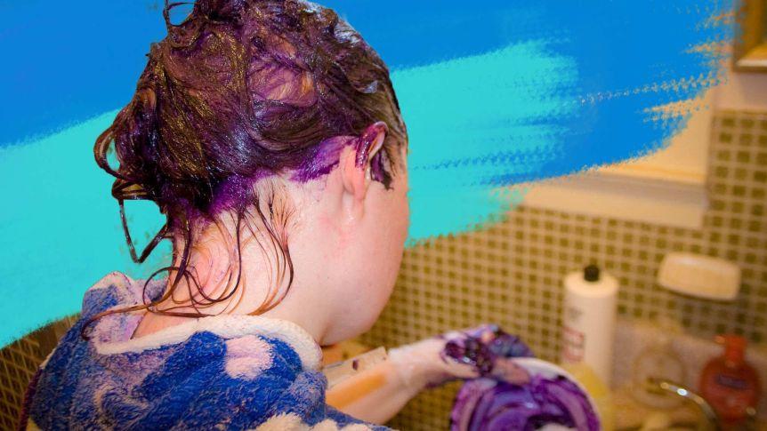 danni provocati dal colore dei capelli a casa