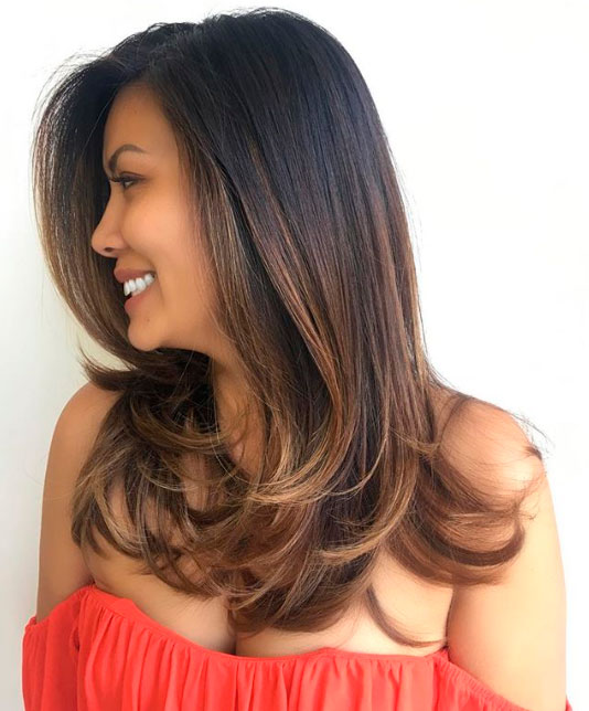 capelli lunghi volume
