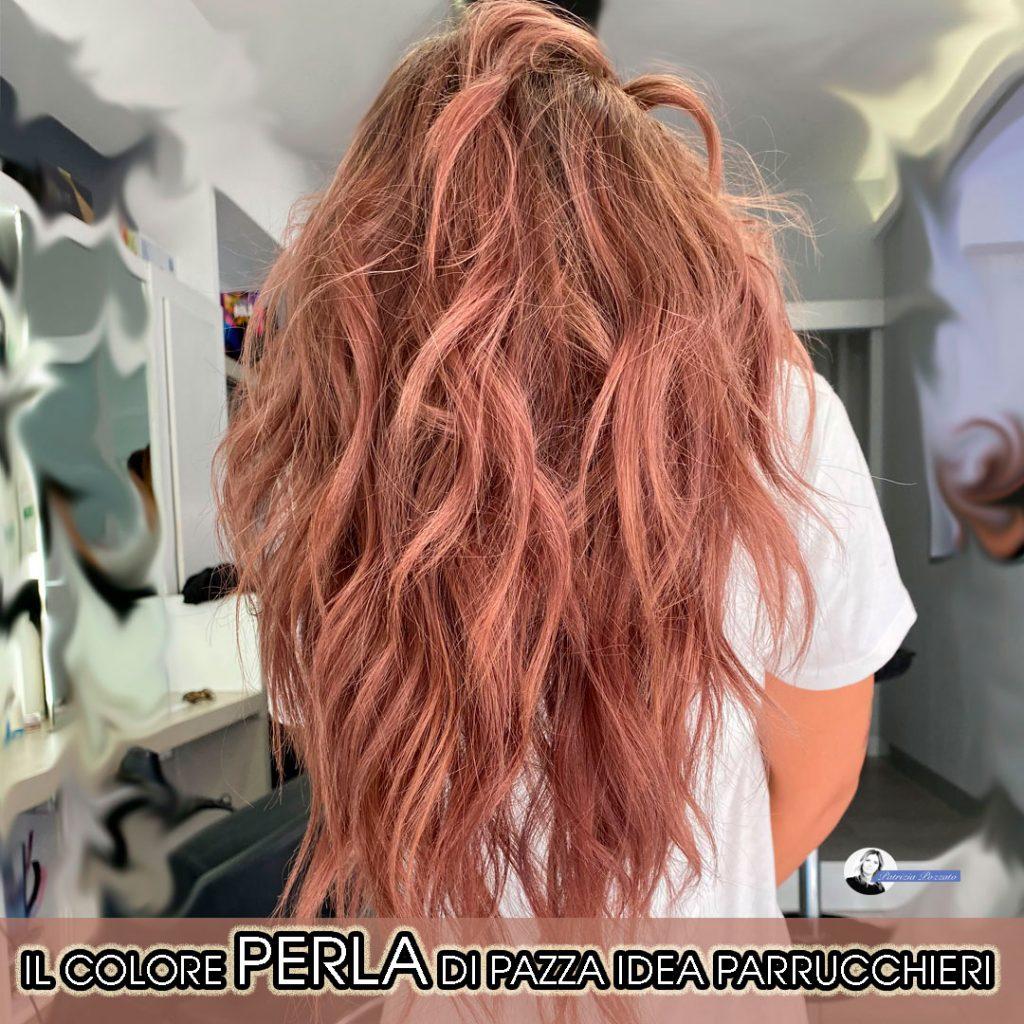 colore perla capelli