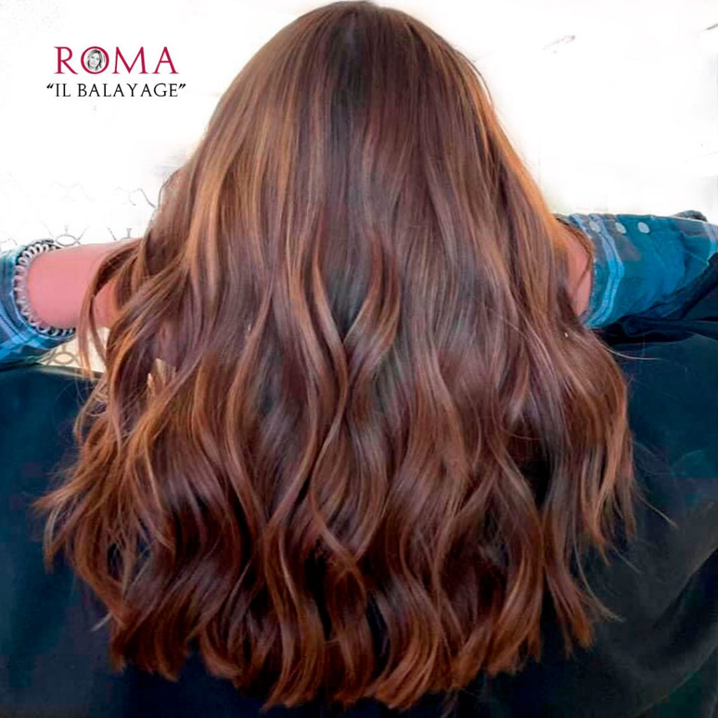 balayage parrucchiere roma