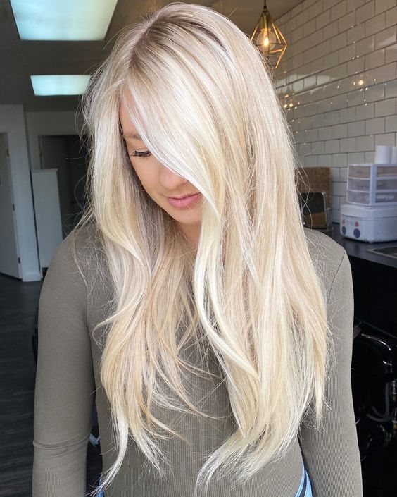 i capelli biondi del 2021.